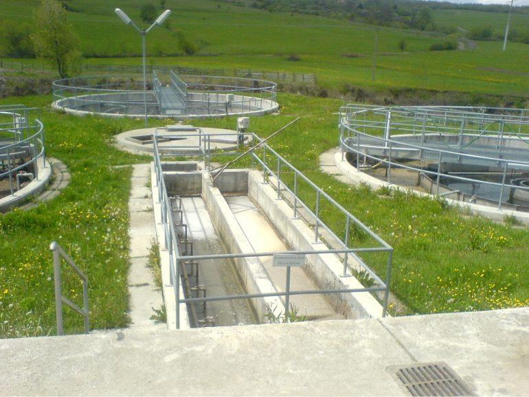 Csatornahálózat és derítő építése Bögözben, Hargita megye